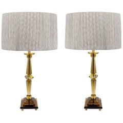 Prisma Big Table Lamp by Attilio Amato for Laudarte Srl, Pair Available