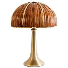 Gabriella Crespi Large 'Fungo' Table Lamp from Rising Sun Series, Italy, 1970s