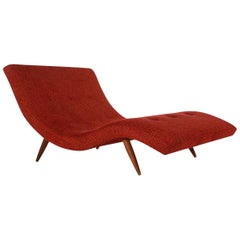 Mid-Century Modern Chaise Longue Chair by Adrian Pearsall for Craft Associates