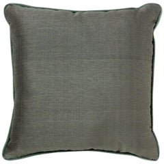 Brabbu Piccadilly Pillow in Green Linen