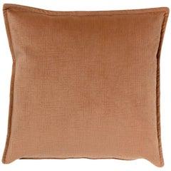 Brabbu Autumnus Pillow in Brown Velvet