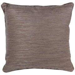 Brabbu Stump Pillow in Brown Linen with Textured Detail