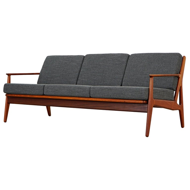 Three-Seat Sofa by Arne Vodder for Vamo Sønderborg, 1960s