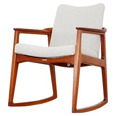 Rocking Chair by Sigvard Bernadotte, circa 1955
