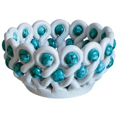 Braided Ceramic Basket