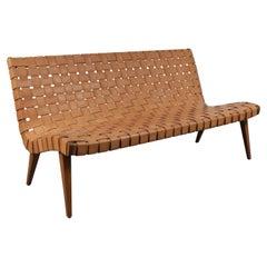 Rare Three-Seat Jens Risom Sofa for Knoll International, USA, 1950