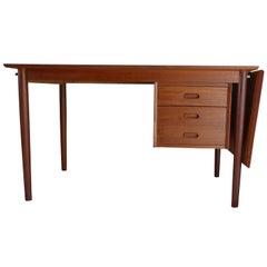 Scandinavian Vintage Teak Desk Arne Vodder
