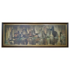 Huge New York City View Landscape Cityscape Turner Wall Art by Maio