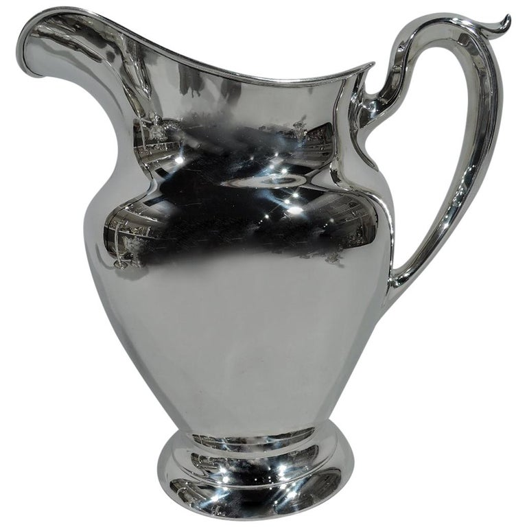 Traditional Sterling Silver Water Pitcher by Gorham