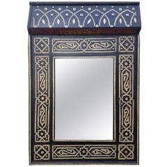 Chalet Moroccan Bone Mirror, Marrakech 1