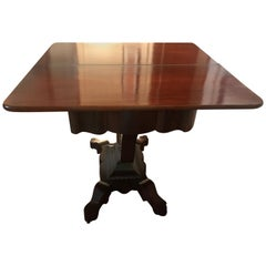 American Regency Mahogany Folding Game Table