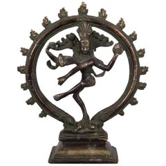 Vintage Bronze Shiva, circa 1930-1950