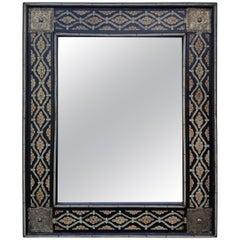 Mamoun Moroccan Bone Mirror, Marrakech