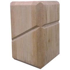 Stonehenge Stool in Brazilian Solid Wood  by Atan Design