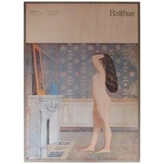 Original Exhibition Poster Balthus Venice Biennale, Italy 1980