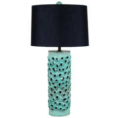 Large Trafitto Lamp by Magnolia Ceramics for Lawson-Fenning