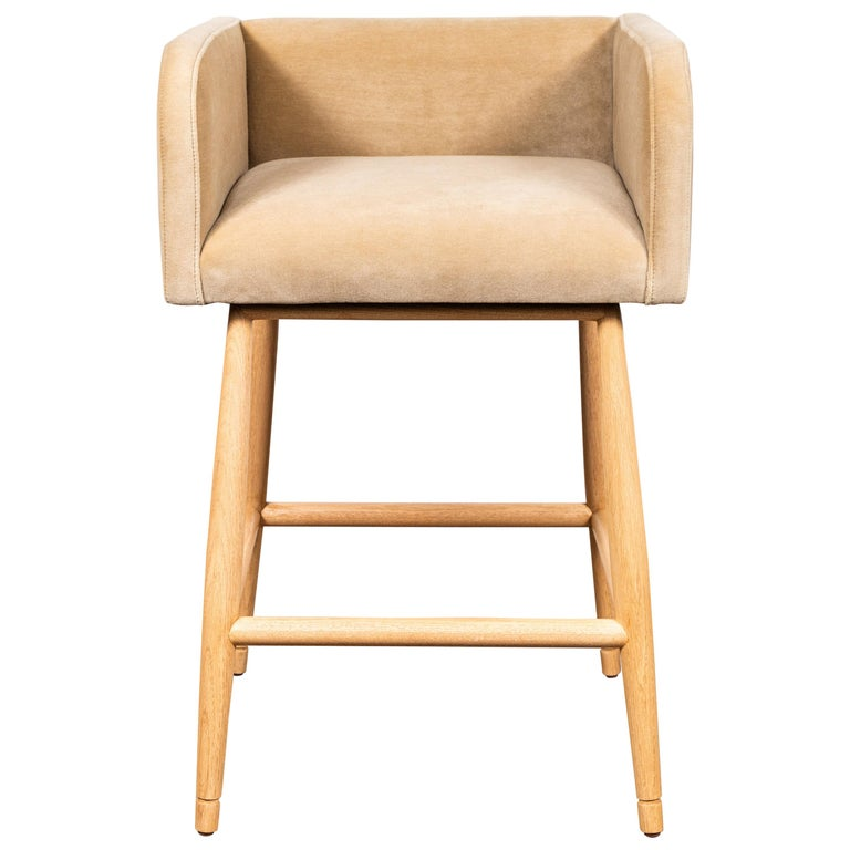 Moreno Barstool by Lawson-Fenning For Sale
