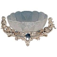 Silver Fruitbowl Centrepiece Historicism Figurines