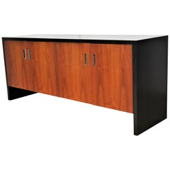 Glenn of California Credenza in Rosewood and Ebonized Finish