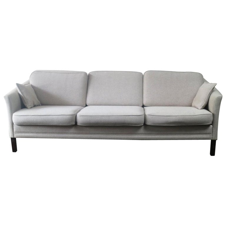 1970s Danish Midcentury Sofa with Original Wool Upholstery