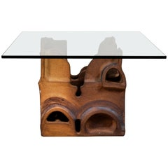 Pottery Table by George Greenmyer for Vladimir Kagan