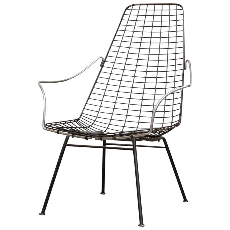 Rare Cees Braakman and Adriaan Dekker Flamingo Chair For Sale