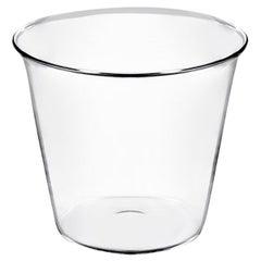 Plume Handmade Wine Glass in Mouth Blown Glass Designed by Aldo Cibic
