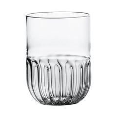 Routine Water Glass in Mouth Blown Glass Designed by Matteo Cibic