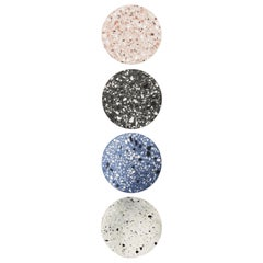 """Pin"" Wall Lamp by Bentu Design 'White Terrazzo'"
