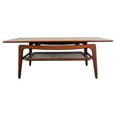Coffee Table in the Style of Louis Van Teeffelen for Wébé, 1950s-1960s