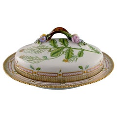 Royal Copenhagen Flora Danica Large Tureen / Lidded Bowl