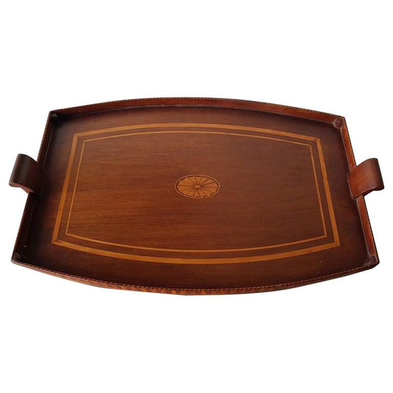 Late 19th Century French Edwardian Style Serving Tray