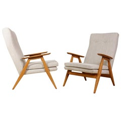 Pair of French Midcentury Armchairs