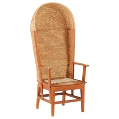 Scottish Oak Hooded Orkney Chair