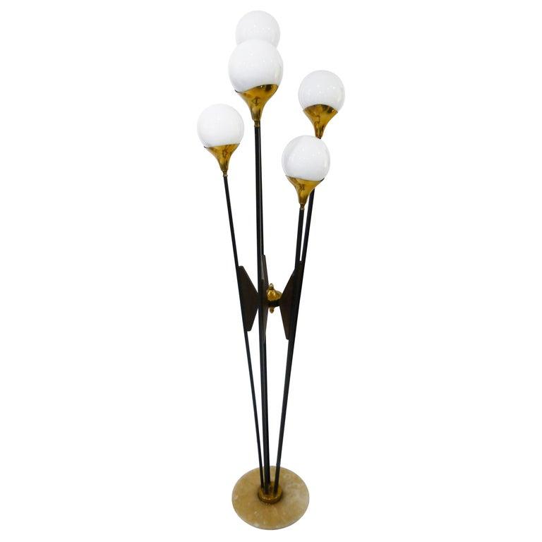 Italian Floor Lamp by Stilnovo, 1960s