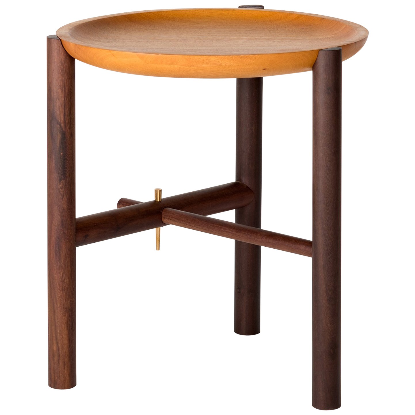 Ocum Side Table mexican contemporary design in tropical woods