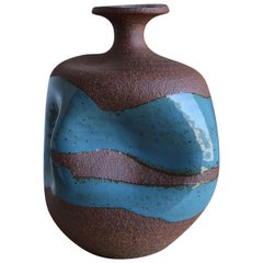 Sculptural Ceramic Vase by Tim Keenan