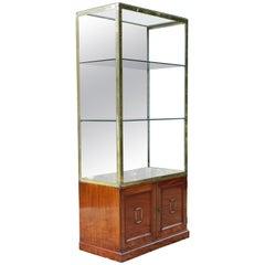 British Museum Mahogany Cabinet, circa 1840