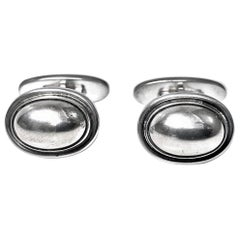 Georg Jensen Sterling Cufflinks
