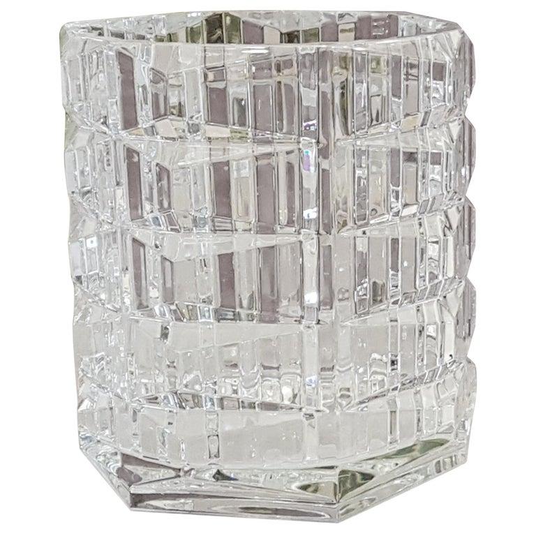Baccarat Crystal Louxor Grand Vase Modern For Sale At 1stdibs