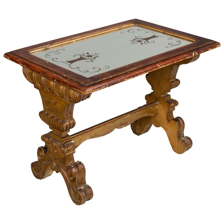 Italian Parcel-Gilt Coffee or Side Table