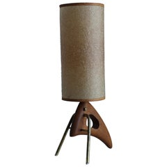 1950s Sculptural Modernist Table Lamp