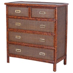 British Colonial Case Pieces and Storage Cabinets