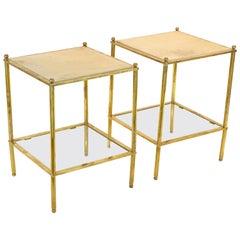 Maison Jansen Parchment Top Tables