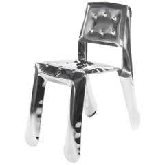 Limited Edition Chippensteel 0.5 Chair in Polished Stainless Steel by Zieta