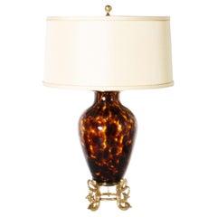 Marbro Tortoise Shell Lamp, circa 1950