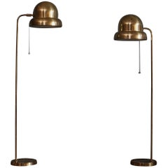 Pair of Floor Lamps, Model G-090, Bergboms, Sweden, 1960s