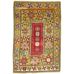 Vintage Turkish Bohemian Rug
