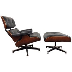Early Charles & Ray Eames Lounge Chair and Ottoman