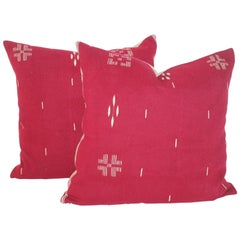 Tex Coco Mexican Indian Weaving Pillows / Pair